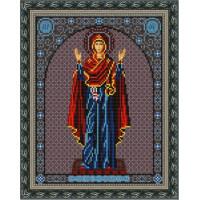 Конёк НИК 9212 Богородица Нерушимая Стена. Схема для вышивания бисером