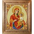 Конёк НИК9213 Богородица Скоропослушница. Схема для вышивания бисером