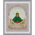 Конёк НИК 9214 Богородица Покрова. Схема для вышивания бисером