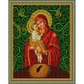 Конёк НИК 9215 Богородица Почаевская. Схема для вышивания бисером