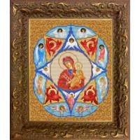 Конёк НИК 9217 Богородица Неопалимая Купина. Схема для вышивания бисером