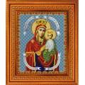 Конёк НИК 9221 Богородица Споручница грешных. Схема для вышивания бисером