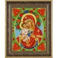 Конёк НИК9225 Богородица Жировицкая. Схема для вышивания бисером