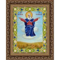 Конёк НИК 9229 Богородица Спорительница Хлебов. Схема для вышивания бисером