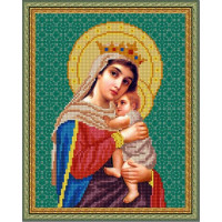 Конёк НИК9230 Богородица Отчаянных Единая Надежда. Схема для вышивания бисером