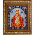 Конёк НИК 9231 Богородица Знамение. Схема для вышивания бисером