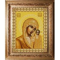Конёк НИК 9234 Богородица Казанская. Схема для вышивания бисером