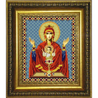 Конёк НИК 9240 Богородица Неупиваемая Чаша. Схема для вышивания бисером