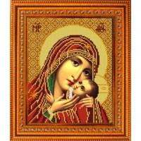 Конёк НИК 9242 Богородица Касперовская. Схема для вышивания бисером