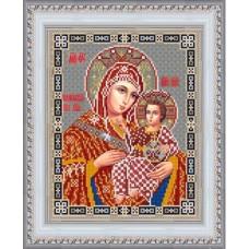 Схема для вышивания НИК 9243 Богородица Вифлиемская. Схема для вышивания бисером