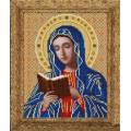 Конёк НИК 9246 Богородица Калужская. Схема для вышивания бисером