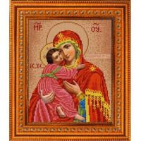Конёк НИК9250 Богородица Владимирская. Схема для вышивания бисером
