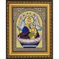 Конёк НИК9251 Богородица Живоносный Источник. Схема для вышивания бисером