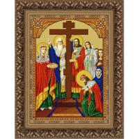 Конёк НИК 9252 Воздвиженье Креста Господня. Схема для вышивания бисером