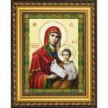 Конёк НИК9254 Богородица Утоли Мои Печали. Схема для вышивания бисером