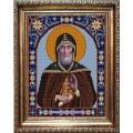 Конёк НИК 9377 Св. Павел Обнорский. Схема для вышивания бисером