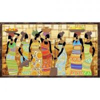 Конёк НИК9454 Африканский колорит. Схема для вышивания бисером
