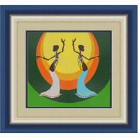 Конёк НИК 9511 Танец. Схема для вышивания бисером