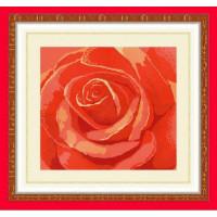 Конёк НИК 9512 Роза. Схема для вышивания бисером