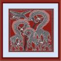 Конёк НИК 9519 Семья. Схема для вышивания бисером