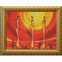 Конёк НИК 9609 Африканки. Схема для вышивания бисером