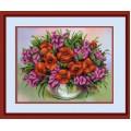 Конёк НИК 9661 Полевые цветы. Схема для вышивания бисером