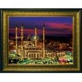 Конёк НИК 9665 Мечеть Сердце Чечни. Схема для вышивания бисером