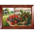 Конёк НИК 9671 Урожай. Схема для вышивания бисером