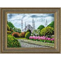 Конёк НИК 9672 Голубая мечеть. Схема для вышивания бисером