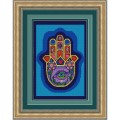 Конёк НИК 9682 Хамса-рука Бога. Схема для вышивания бисером