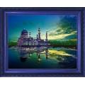 Конёк НИК 9703 Мечеть Masjid Bandaraya (Бандарая). Схема для вышивания бисером