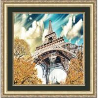 Конёк НИК 9712 Эйфелева башня. Схема для вышивания бисером