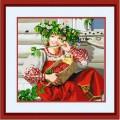 Конёк НИК 9718 Красна девица. Схема для вышивания бисером