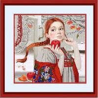 Конёк НИК 9720 Зимние яблоки. Схема для вышивания бисером