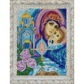 Конёк НИК 9733 Богородица. Схема для вышивания бисером