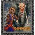 Конёк НИК 9741 Индийский слон. Схема для вышивания бисером