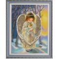 Конёк НИК 9750 Ангел. Схема для вышивания бисером