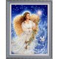 Конёк НИК 9751 Рождественский ангел. Схема для вышивания бисером