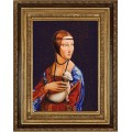Конёк НИК 9752 Дама с горностаем (Леонардо да Винчи)
