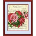 Конёк НИК 9759 Лунный свет и розы. Схема для вышивания бисером