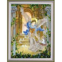 Конёк НИК 9794 Ангел и голуби. Схема для вышивания бисером