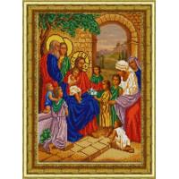 Конёк НИК 9806 Благословение детей. Схема для вышивания бисером