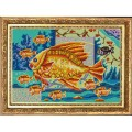 Конёк НИК 9807 Богатство (9 рыбок). Схема для вышивания бисером