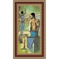 Конёк НИК 9815 Девочка на шаре (П. Пикассо). Схема для вышивания бисером