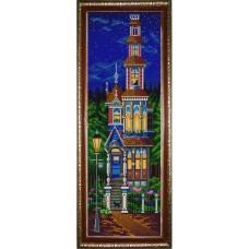 Схема для вышивания НИК 9816 Сказочный домик. Схема для вышивания бисером