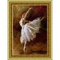Конёк НИК9840 Балерина. Схема для вышивания бисером