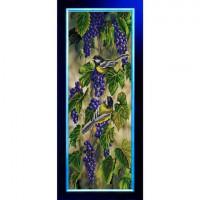 Конёк НИК9847 Птички-синички. Схема для вышивания бисером