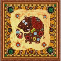 Конёк НИК9854 Слоник. Схема для вышивания бисером