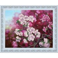 Конёк НИК9863 Весенний цвет. Схема для вышивания бисером