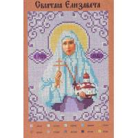 Крестомания 041И Святая Елизавета. Рисунок на холсте